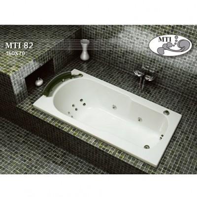 אמבטיה אקרילית דגם 160X70 MTI-82