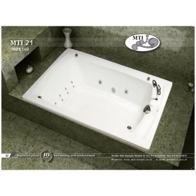 אמבטיה מלבנית דגם 180X140 MTI-21