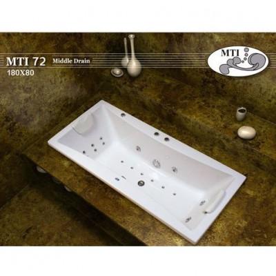 אמבטיה מלבנית דגם 180X80 MTI-72