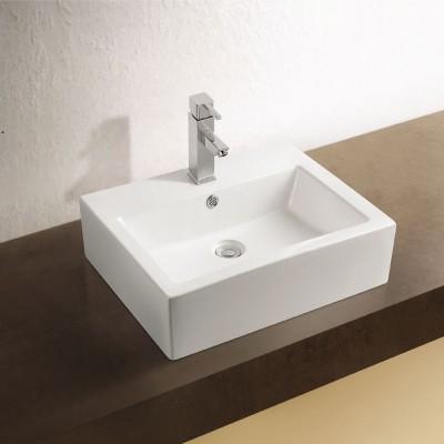 Sebach כיור לאמבטיה חרס מונח דקל - רוחב 57 ס''מ | עומק 46 ס''מ