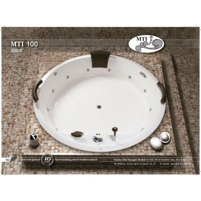 אמבטיה עגול דגם MTI-100 קוטר 200