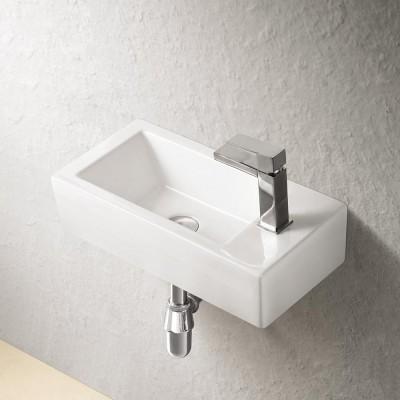 Sebach כיור לאמבטיה חרס מונח ארד- רוחב 50 ס''מ | עומק 24 ס''מ