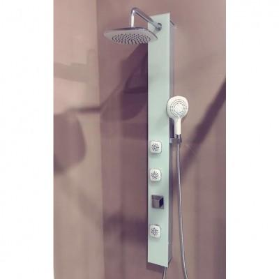 פנל מסאג' למקלחת מזכוכית דגם טוליפ 202981