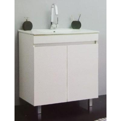 ארון אמבטיה עומד כולל כיור דגם ירון במגוון מידות