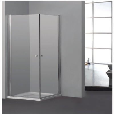 SELAQUA מקלחון פינתי 2 דלתות על ציר EL-2801