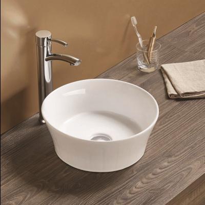 כיור לאמבטיה חרס מונח לילית מעוטר חיצוני - קוטר 38.5 ס''מ