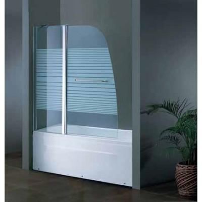 מלאי מוגבל! אמבטיון קבוע ודלת 120 ס''מ + מוט פינוק מתכוונן 1 שקל בלבד!