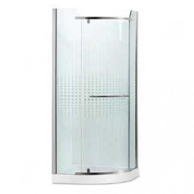 מקלחון פינתי מעוגל נפתח דגם לופ 8 מ''מ 88200
