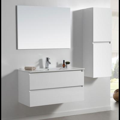 ארון אמבטיה תלוי לבן מבריק אפוקסי אופק