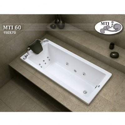 אמבטיה אקרילית דגם 150X70 MTI-60