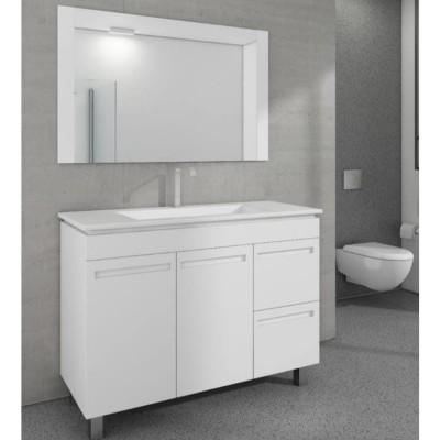 """ארון אמבטיה עומד אפוקסי סופייה 100 ס""""מ"""