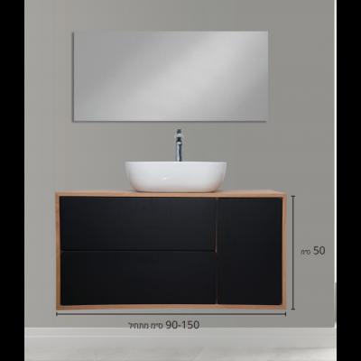 """ארון אמבטיה תלוי אפוקסי אדריאנוס 130 ס""""מ"""
