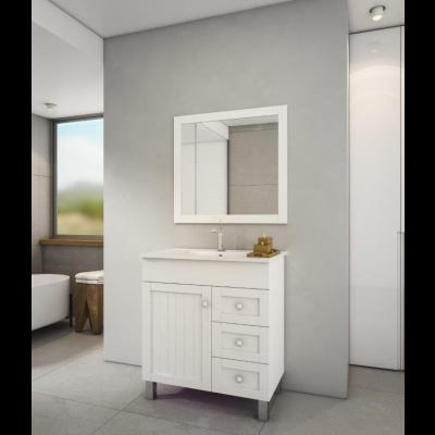 """ארון אמבטיה עומד אפוקסי ויליג' 80 ס""""מ"""