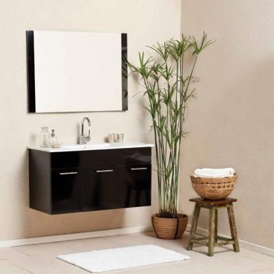 ארון אמבטיה תלוי כולל כיור דגם קלאסיק איה במגוון מידות