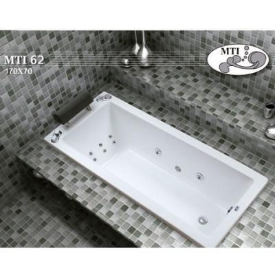 אמבטיה מלבנית דגם 170X70 MTI-62