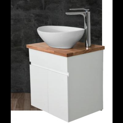"""ארון אמבטיה תלוי אפוקסי סרזיה 50 ס""""מ"""