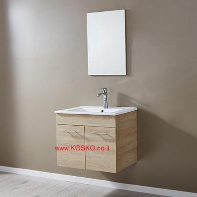 """ארון אמבטיה תלוי דגם מונדיאל 80 ס""""מ"""
