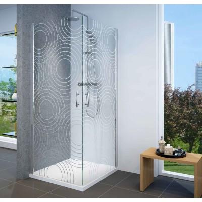 מקלחון Selaqua פינתי מהודר 2 דלתות על ציר TARGET