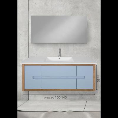 """ארון אמבטיה תלוי אפוקסי ביתר 140 ס""""מ"""