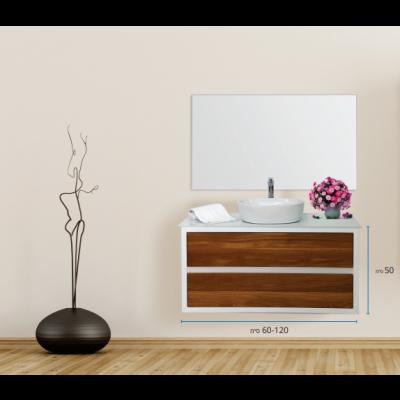 """ארון אמבטיה תלוי אפוקסי פאנו 110 ס""""מ"""