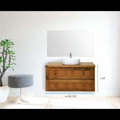 """ארון אמבטיה תלוי אפוקסי גרייס 120 ס""""מ"""