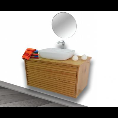 """ארון אמבטיה תלוי אפוקסי טרני 120 ס""""מ"""