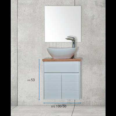 ארון אמבטיה תלוי אפוקסי טראמו וויב