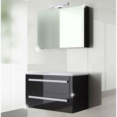 ארון אמבטיה תלוי דגם ניקול 80 ס''מ כולל כיור ומראה