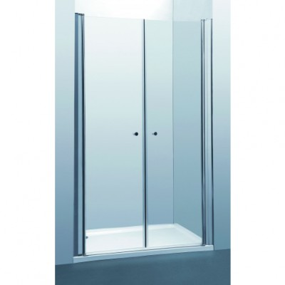SELAQUA- מקלחון חזית 2 דלתות על ציר דגם 28A2