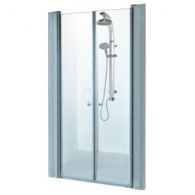 מקלחון חזית 2 דלתות על ציר דגם אודי