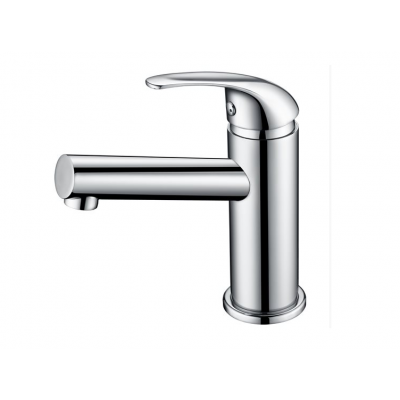ברז ניקל מבריק לכיור אמבטיה דגם LOREN