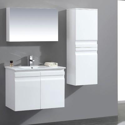 ארון אמבטיה אפוקסי תלוי 60 ס''מ דגם פארם דלתות טריקה שקטה