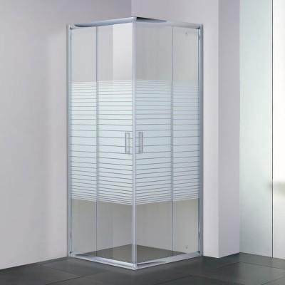 מקלחון פינתי הזזה מרובע מקס