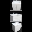 """ארון אמבטיה תלוי אפוקסי טראמו 60 ס""""מ."""