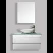 """ארון אמבטיה תלוי אפוקסי ספורה 80 ס""""מ."""