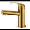 ברז זהב מט לכיור אמבטיה דגם LOREN