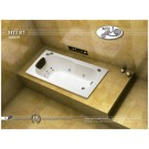 אמבטיה מלבנית דגם 140X70 MTI-81
