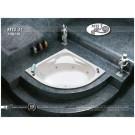 אמבטיה פינתית דגם 110X110 MTI-31