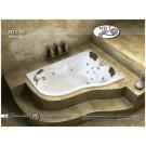 אמבטיה פינתית דגם 175X120 MTI-59