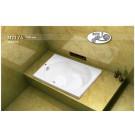 אמבטיה מלבנית דגם 105X70 MTI-74