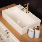 Sebach כיור לאמבטיה חרס מונח ורד - רוחב 51 ס''מ | עומק 36 ס''מ