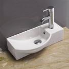 Sebach כיור לאמבטיה חרס מונח עידו - רוחב 40 ס''מ | עומק 22 ס''מ