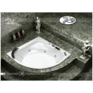 אמבטיה אקרילית דגם 150X150 MTI-35