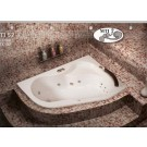 אמבטיה פינתית דגם 150X100 MTI-52