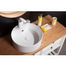 "Sebach כיור לאמבטיה חרס מונח הילה - קוטר 39 ס""מ גובה 14 ס""מ"