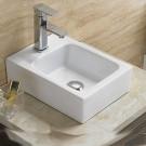 Sebach כיור לאמבטיה חרס מונח טליה - רוחב 38 ס''מ | עומק 28 ס''מ