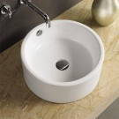 "Sebach כיור לאמבטיה חרס מונח משי - קוטר 41 ס""מ גובה 16 ס""מ"