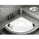 אמבטיה פינתית דגם 135X135 MTI-88