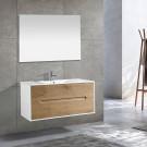 ארון אמבטיה תלוי מגירות אריאל 80 ס''מ WOOD
