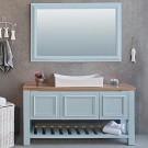 ארון אמבטיה עומד דגם אטלס 180 ס''מ כולל כיור ומראה